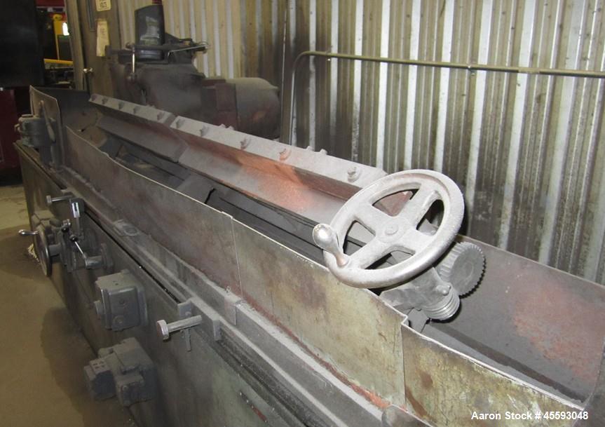 """Used-Samuel C. Rogers model NL-NYD knife grinder. 66"""" wide capacity, s/n 167"""