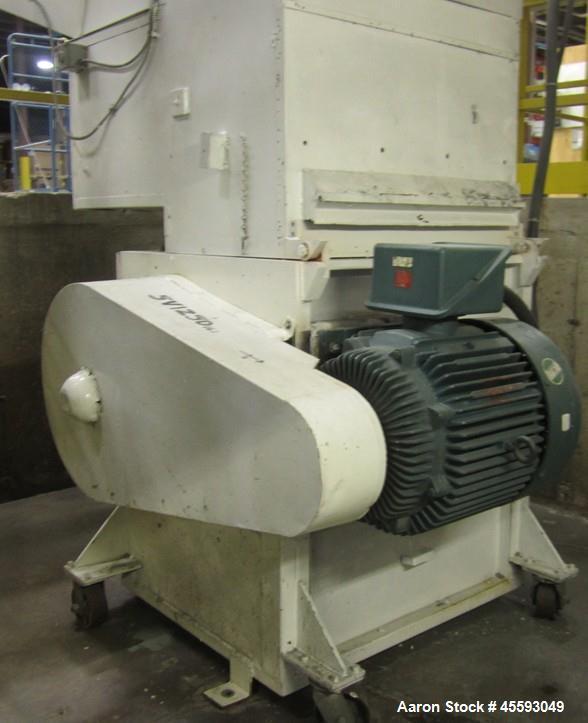 Used-Approx. 50 hp plastic grinder, s/n 5V1250