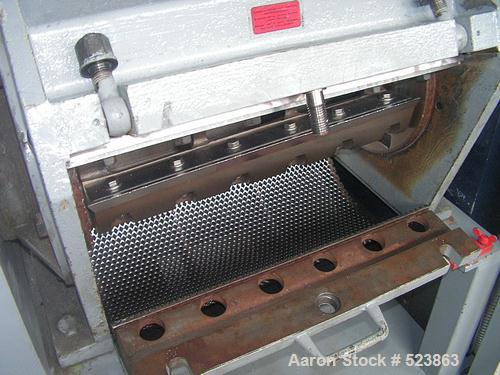 "USED: Alpine granulator / mill RO 36/60. Driven by a 30 hp (22 kW), 380 volt/50 cycle/3 ph motor. Feeding width 23.6"" (600 m..."