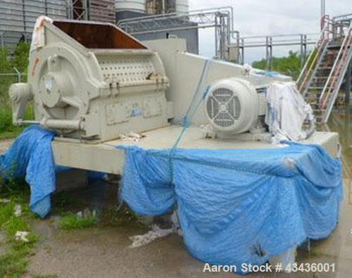 Used-Rebuilt Alpine Granulator, Type RO 80/100, 150 hp motor, 3/60/460V.  Year 1987.