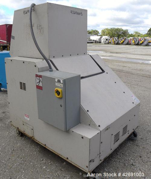 "Used- Ball & Jewell Beside-The-Press Granulator, Model BP1224. Approximately 12"" diameter x 24"" wide 3 bolt-on blade open ro..."