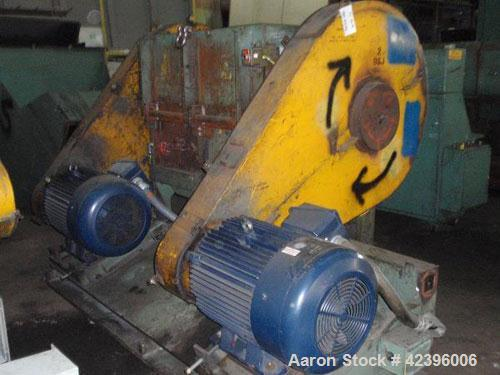 Used- Carbon Steel Ball & Jewel Granulator, Model HDS 3652
