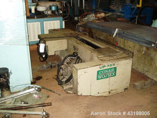 "Used- Conair Martin Under The Press Granulator, Model UP-755, Carbon Steel. Approximate 55"" x 7"" feed opening with dual padd..."