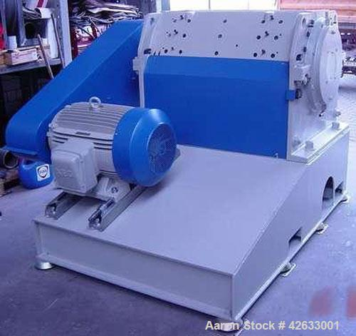 Used- Condux CS 500/1000-6 Granulator/Shredder, 100 hp/75 kW, capacity 2204 lbs/h (1000 kg/h), 5 rotor knives, 6 stator kniv...
