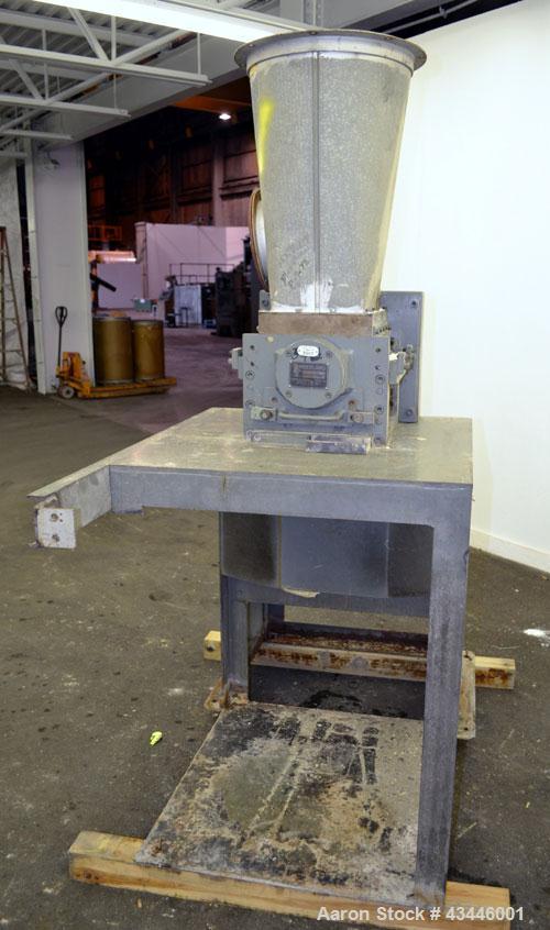 Used- Carbon Steel Cumberland Granulator, Model 10X12