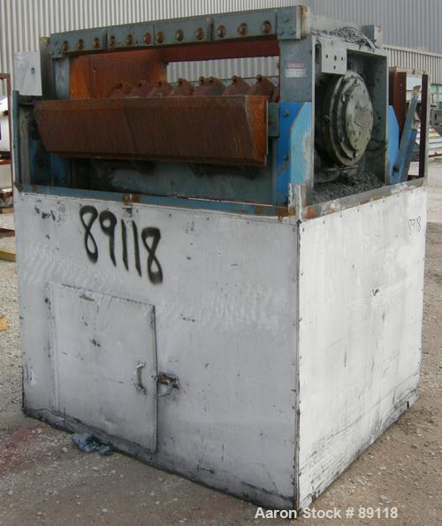 """USED: Cumberland granulator, model 20X50. Approximate 20"""" diameter x 50"""" wide open rotor, requires blades. 20"""" x 50"""" feed th..."""