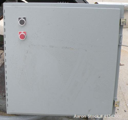 "Used- Cumberland Granulator, Model 24 GRAN-3KN. 3 bolt on blade, closed rotor. Approximate 18"" x 24"" feed with hopper, botto..."