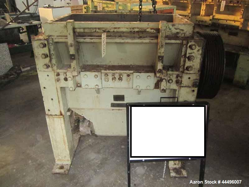 "Used; CUMBERLAND MODEL 18 x 37 GRANULATOR, 18"" X 37"" FEED THROAT, 5 KNIFE STEEP ANGLE STEP ADJUSTABLE ROTOR KNIVES (10 SEGME..."