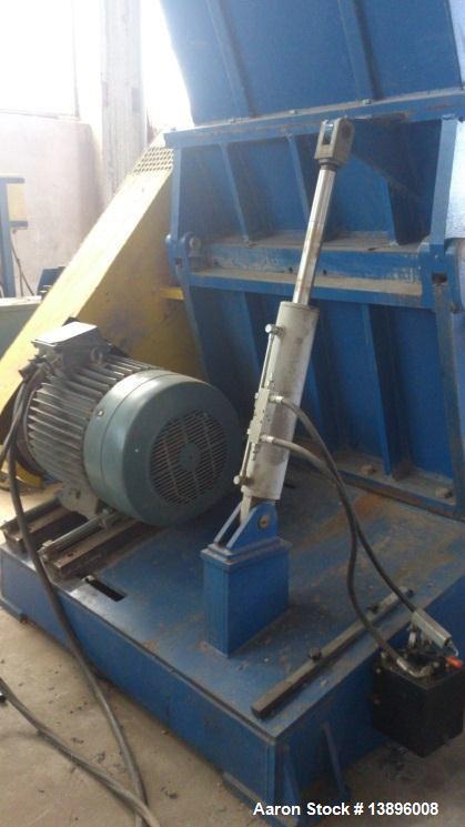 """Used-Desislava 800/1200 Granulator.  Capacity 5511 lbs/h (2,500 kg/h).  Rotor diameter 31.5"""" (800 mm), length 47.2"""" (1200 mm..."""