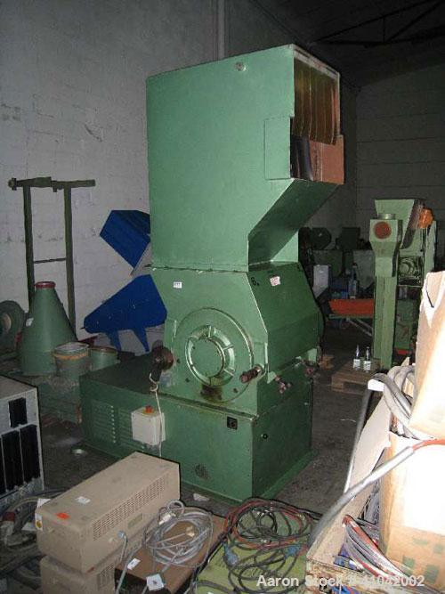 "Used-Dreher Granulator S 42/65 GF. New 1980. 45 kW (60 hp) motor, 420 x 650 mm (26 x 17"") inlet."