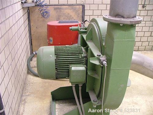 USED: Dreher plastic mill, type S 60/100 SRV. Complete line consisting of (1) Dreher mill, 48 rotor knives, 17 stator knives...