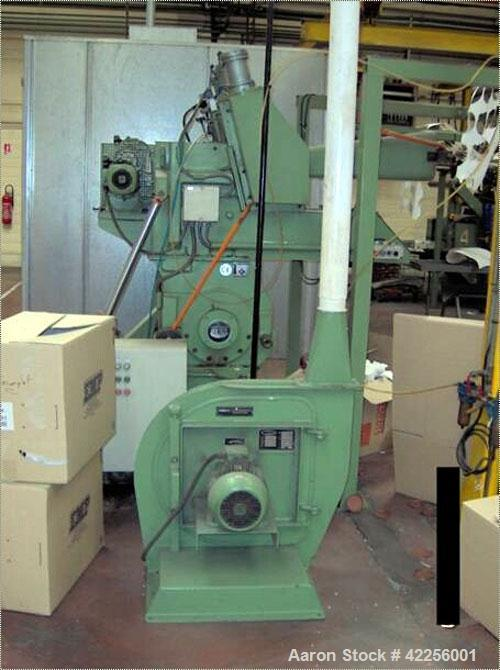 Used-Dreher Granulator, type S26/82GFS. Material of construction is carbon steel. Two way introduction for 2 foils at the sa...