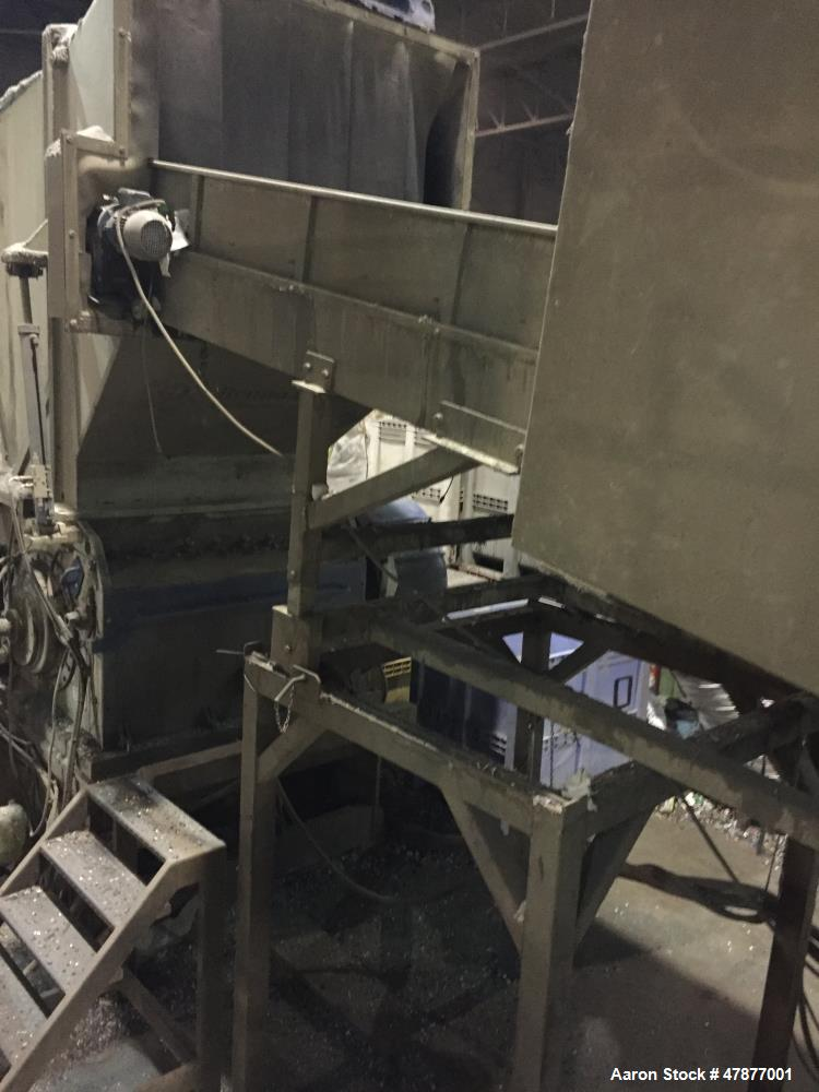 Used- Folcieri, Model Top 1500 x 1000 x 830. Year of build 2000. Including - pneumatic conveyor system Big-Bag-Station for t...