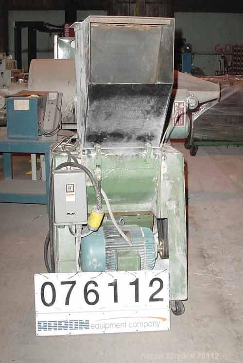 USED: Foremost model HD-6 granulator. 20 hp motor, 230/460 volt, 3/60.14 x 18 feed throat. 2 hp blower discharge. Includes s...