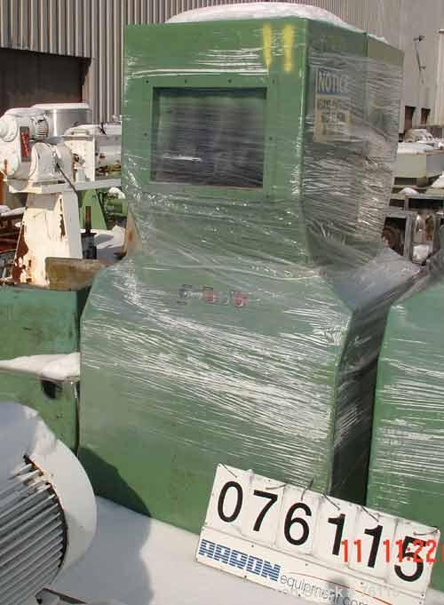 Used- Foremost Granulator, Model HD-6. 20 hp motor, 230/460 volt, 3/60. 14 x 18 feed throat.  2 hp blower discharge. Include...