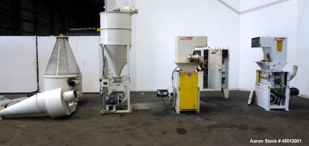 Used- Foremost Machine High Shear Granulator System