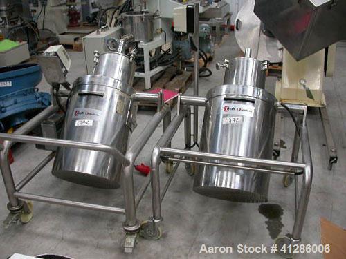 Used-Glatt Granulator, stainless steel