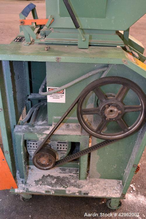 Used- Granutec Granulator, Model TFG1212-15