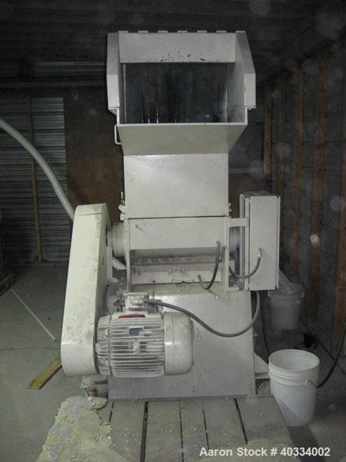Used-Hamilton plastic grinder. 12 x 24 opening, 25 hp, new auger, new belts.