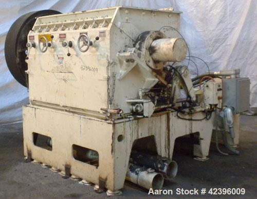 Used- Neue Herbold Granulator, Type SM-800/1600H7-3. Feed opening 940mm x 1560mm (37'' x 61.4''). 800mm (31.4'') Diameter op...