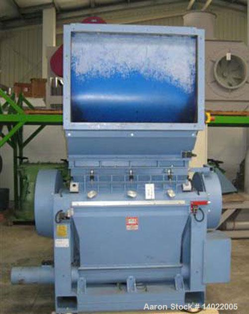 Used-Herbold Granulator Model SML 45/101 SX 3/2-2.  Feed opening 450 x 1000 mm.  Rotor width 1000 mm.  Rotor diameter 450 mm...