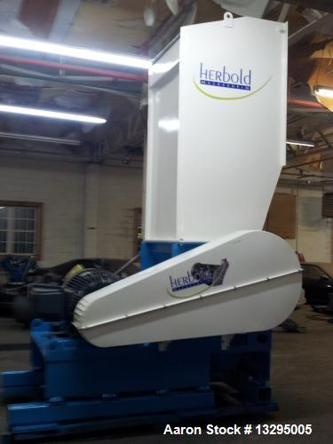 Used- Herbold Granulator, Model SML 60/100