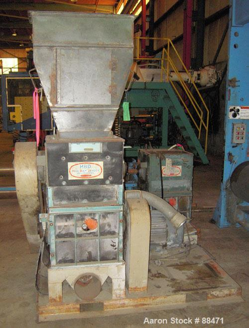 Used- Hydro Claim Dual Chamber Film Grinder