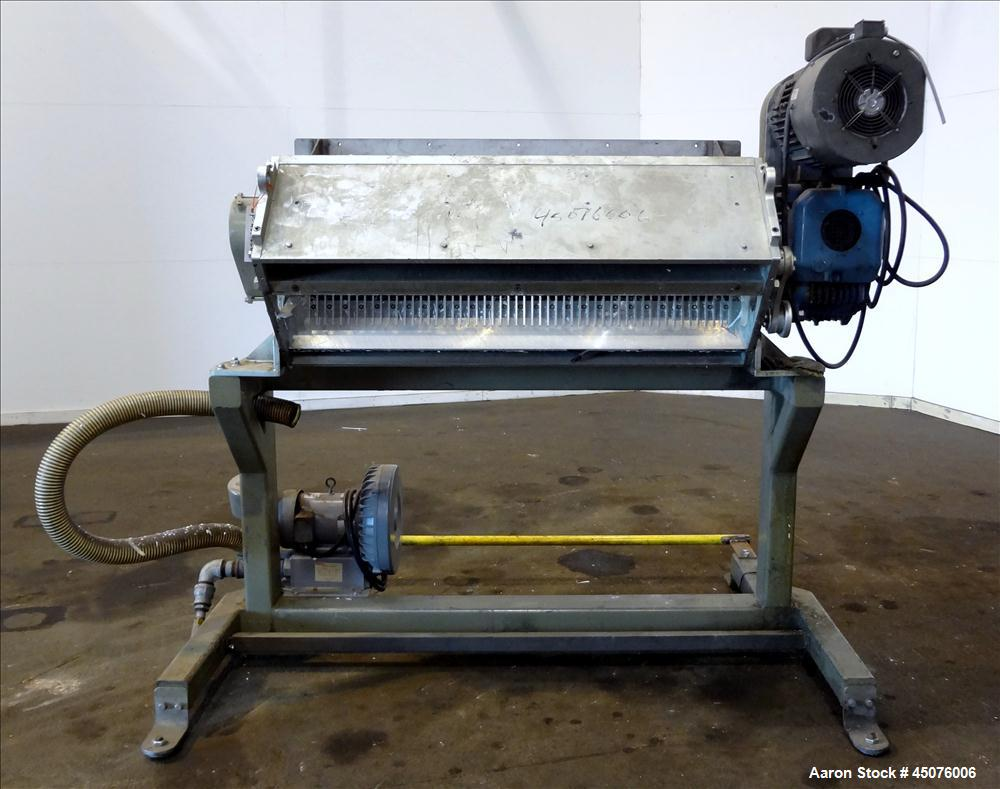 Used- Shredding / Granulating System Consisting