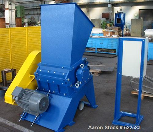 Unused-NEW/UNUSED: Kompass granulator, type 400/600. Material of construction is carbon steel on product contact parts. 15.6...