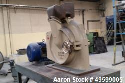Used- Hosokawa Alpine Mill, Model UP500. Series LFH257725007 / 37566.4. 30 HP Motor, 460 Volt.
