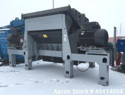 "Used- Lindner Granulator Model KOMET 2200, Carbon Steel. Approximate 83.2"" x 79.2"" (2135 mm x 2030 mm) Input feed hopper ope..."