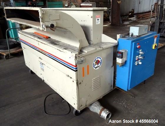 Used-MPG Vertical Trim Press Grinder,  Model F56HB