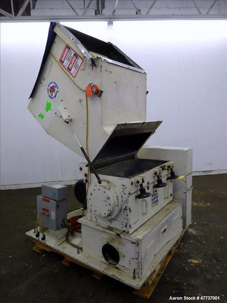 Used- MPG Service & Sales Inc. Granulator, Model GP-1230HB