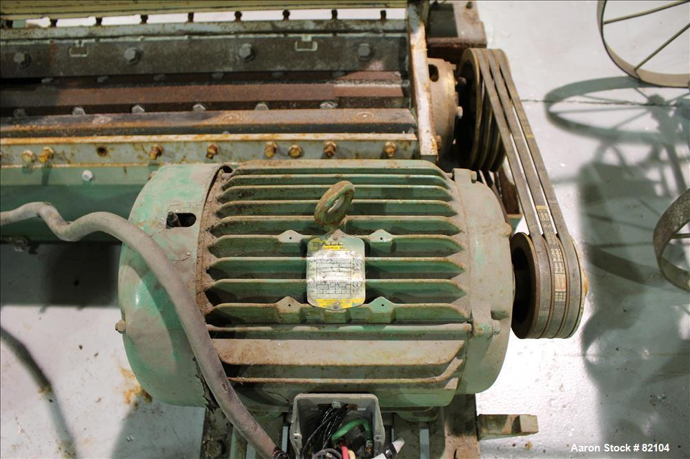 Used- MPG Under the Press Granulator, Model UP735