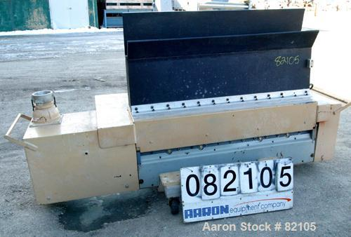 Used: MPG Under the Press Granulator, model UP755