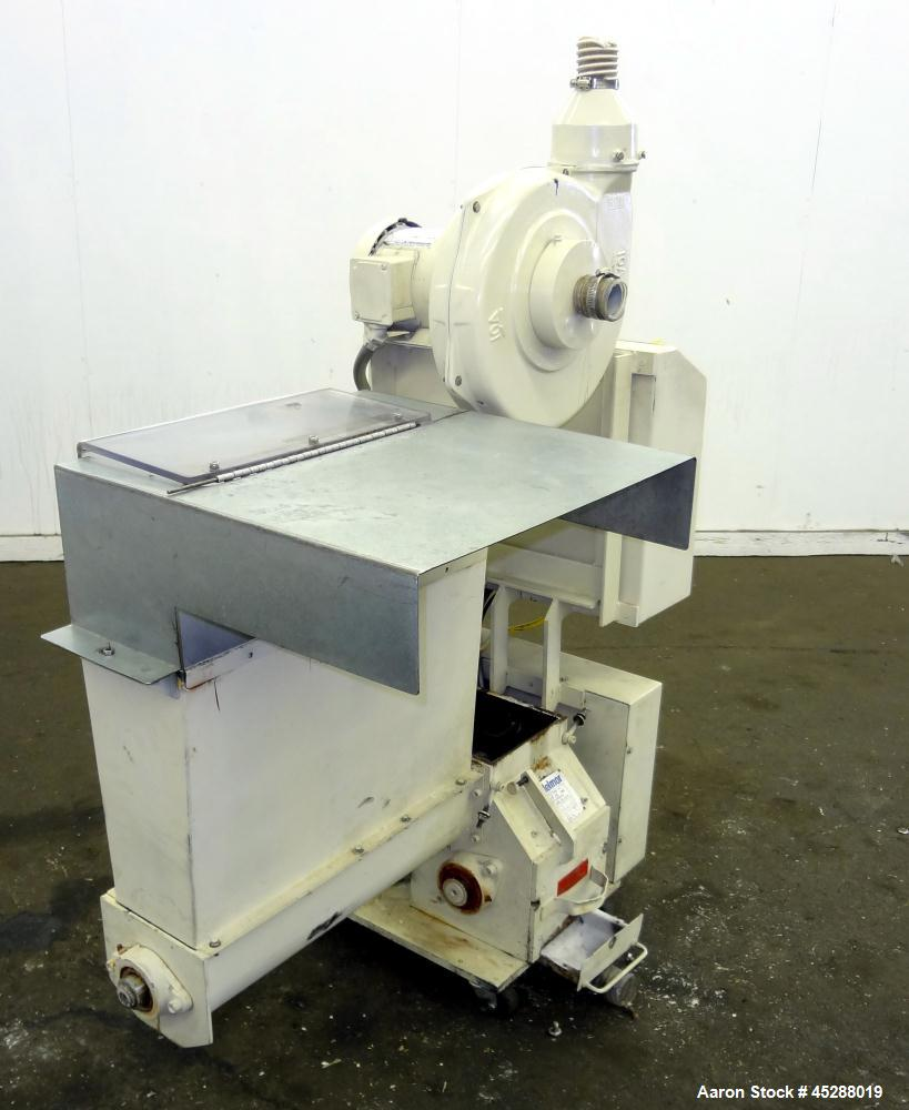 Used- Carbon Steel AEC Nelmore AK Series Auger Fed Granulator, Model AK68