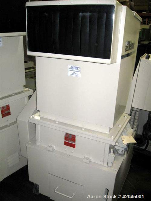 """Used- Nelmore model G1224P1 granulator. Unit is equipped with a 3 knife solid rotor and two bed knives, 12"""" x 24"""" cutting ch..."""