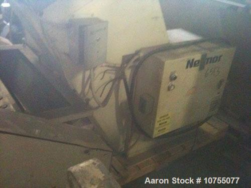 "Used-Nelmor G16295P1 Granulator. Insulated side feed, 16"" x 29.5"" cutting chamber, 3 knife solid rotor, D2 bed knives, scree..."