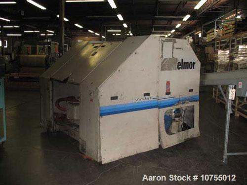 "Used-Nelmor model RG2244 granulator. 22"" x 44"" feed throat, 5 knife open rotor, 2 bed knife, 150 hp, 460 volt motor, dual fe..."