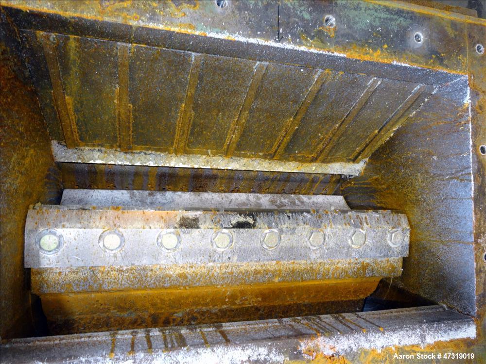 Used- Nelmor Granulator, Carbon Steel.