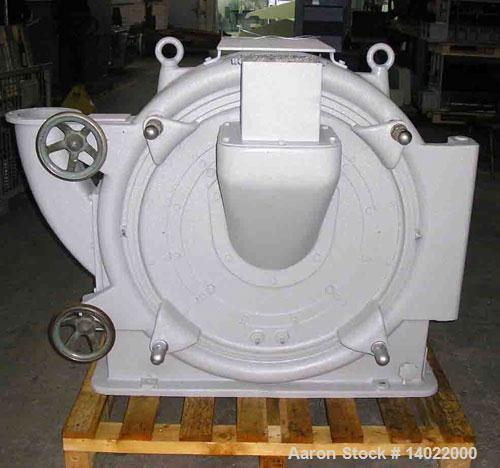 "Used-Pallmann Pulverizer, Type PP8, carbon steel. Rotor 31.2"" (800 mm) diameter with double cone impeller for pulverizing of..."