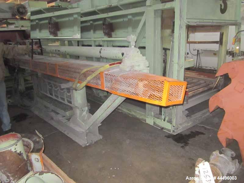 Used- Pallmann Horizontal Ram Fed Granulator, Model PSR16-12