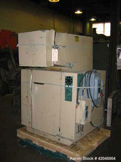"Used- Rapid model 1418 K granulator. Unit is equipped with a 3 knife slant cut open rotor and two bed knives, 14"" x 18"" cutt..."