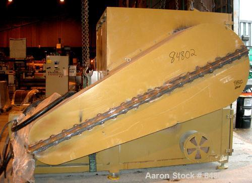 "USED: Rotogran Granulator, model WO-4465-36HD. 65"" x 44"" feed opening with hopper, approximately 65"" wide 9 rows of 5 bolt-o..."