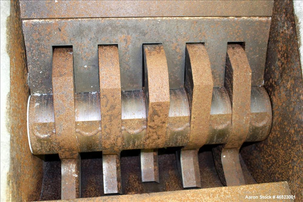 Used- SRS (FBE) Corp., Bi-Cutter Screenless Granulator, Model SR1517.