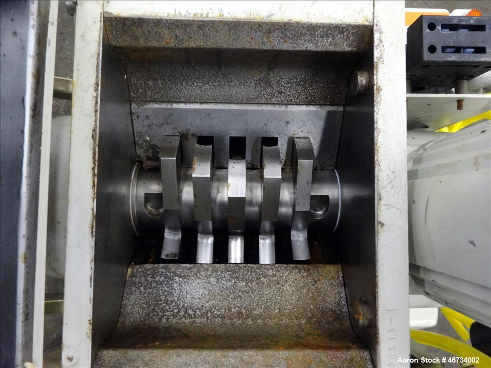 Used- SRS Corp, Bi-Cutter Compact Screenless Granulator, Model SR68,