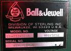 USED: Ball and Jewel Granulator, model CG-812-SCSX