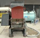 Used- Cumberland Granulator, Model 24 GRAN-3KN. 3 bolt on blade, closed rotor. Approximate 18