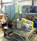 Used- Cumberland Granulator, Model 24B. (5) Blade, open rotor.  Driven by a 50 hp motor.  Includes a 10 hp blower, Low-Veyor...