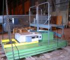 USED: Bruno Folcier plastics granulator system consisting of (1) model 1000X800X630. Approx 16